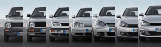 Vw golf generation 11